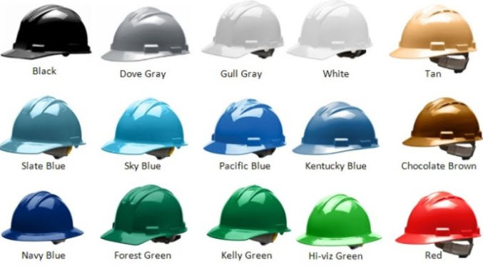 What Hard Hat Color Do You Need on Your Job Site